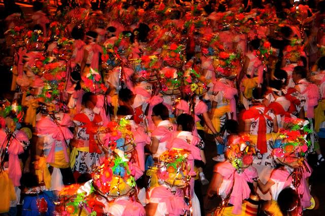 Nebuta Matsuri (parade of floating paper lanterns), Aomori
