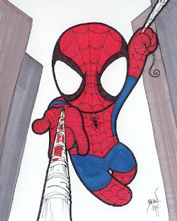 Spiderman Chibi Draws.