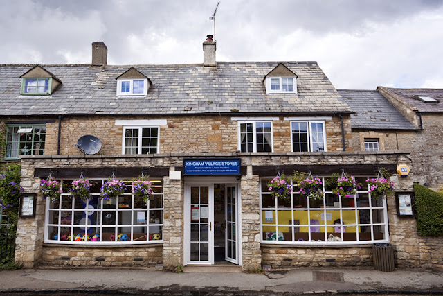 The local shop in the Cotswold village of Kingham by Martyn Ferry Photography