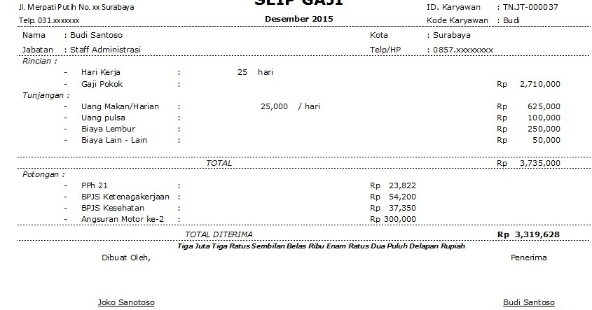 Download Free Format Slip Gaji Malaysia Ozsofthotsoft