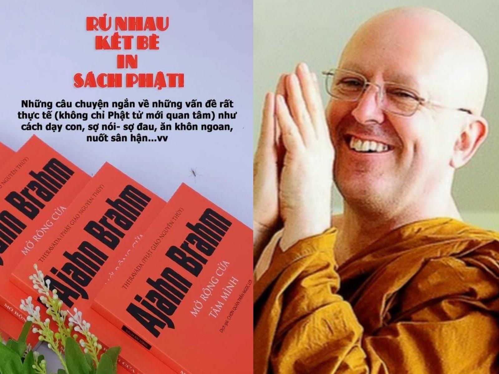 HÙN PHƯỚC - THỈNH SÁCH: Mở rộng cửa Tâm mình của Ngài Ajahn Brahm
