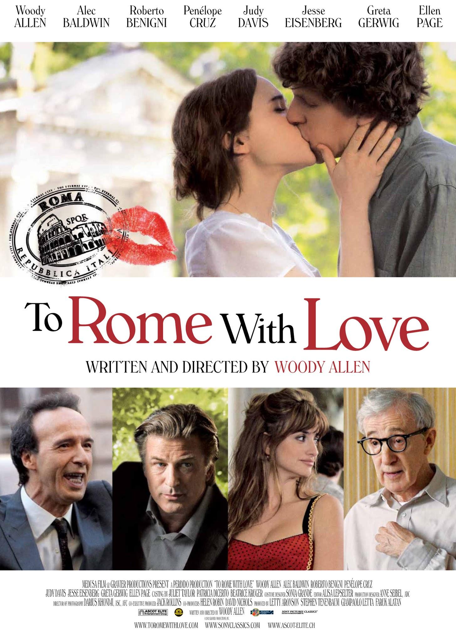 zakochani w rzymie film woody allen