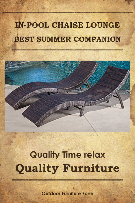 Chaise Lounge Patio Furniture Repair: In Pool Chaise Lounge