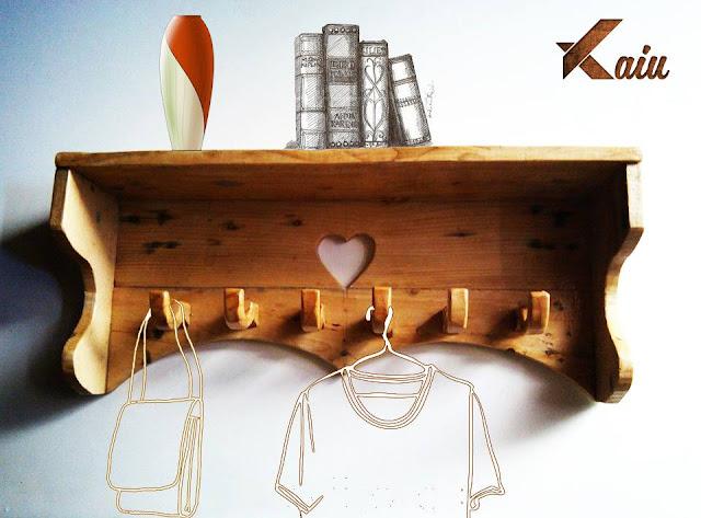 Jual Gantungan Baju dari Kayu