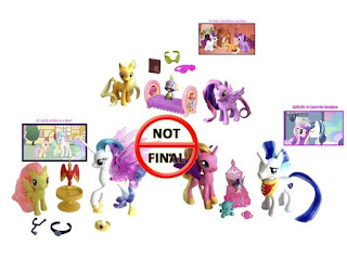MLP Reboot Series Family Moments, Royal Friendships and Nurturing Friends Set