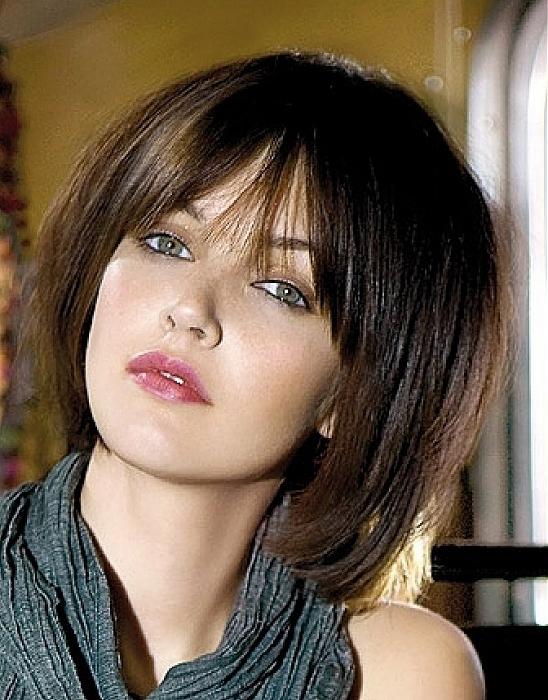 Potongan Rambut Untuk Wajah Bulat   Trend 2013