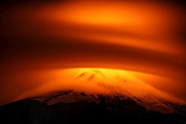 Villarrica Volcano Eruption