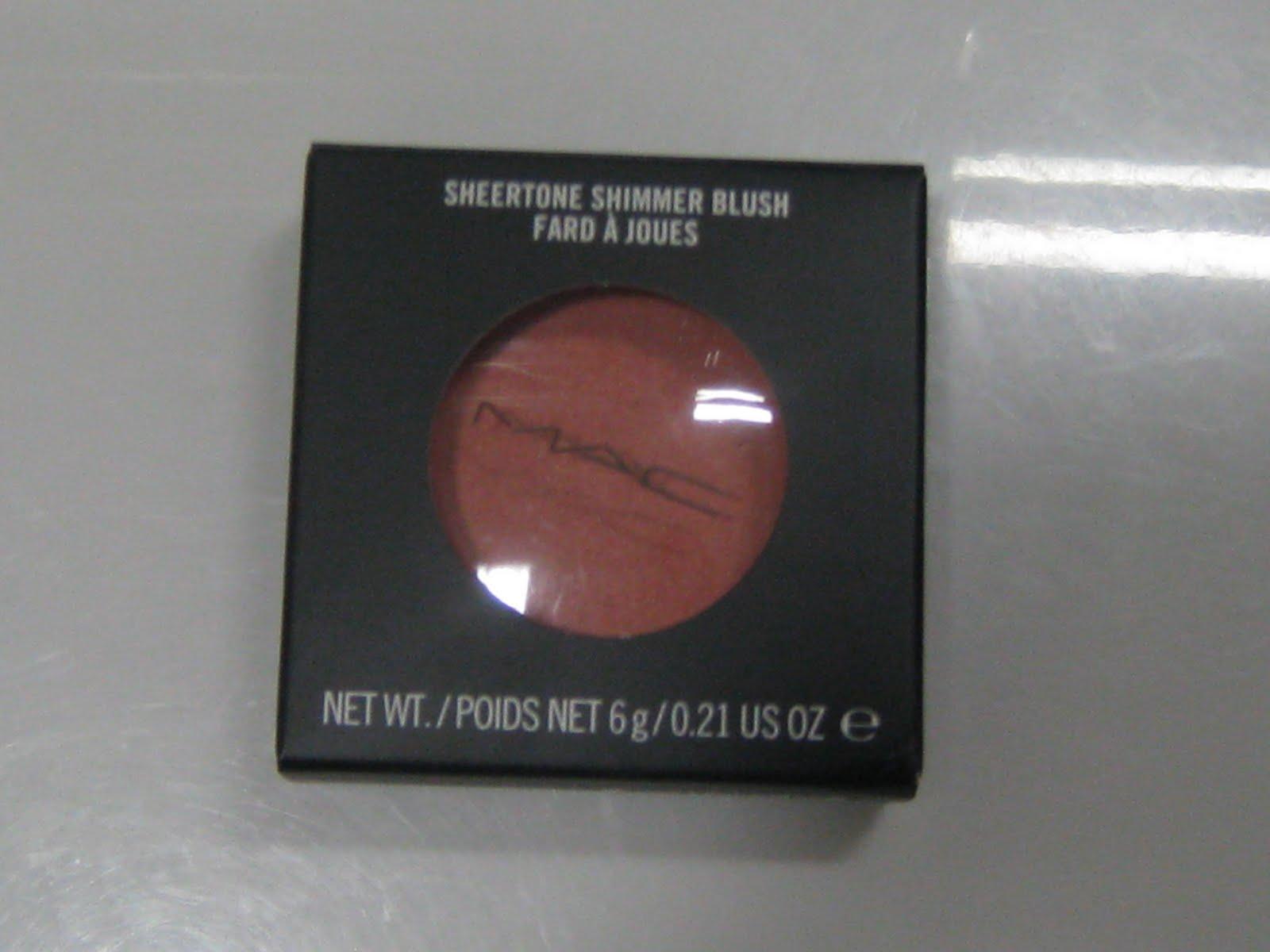 Beauty Blog: Mac Sheertone Shimmer Blush