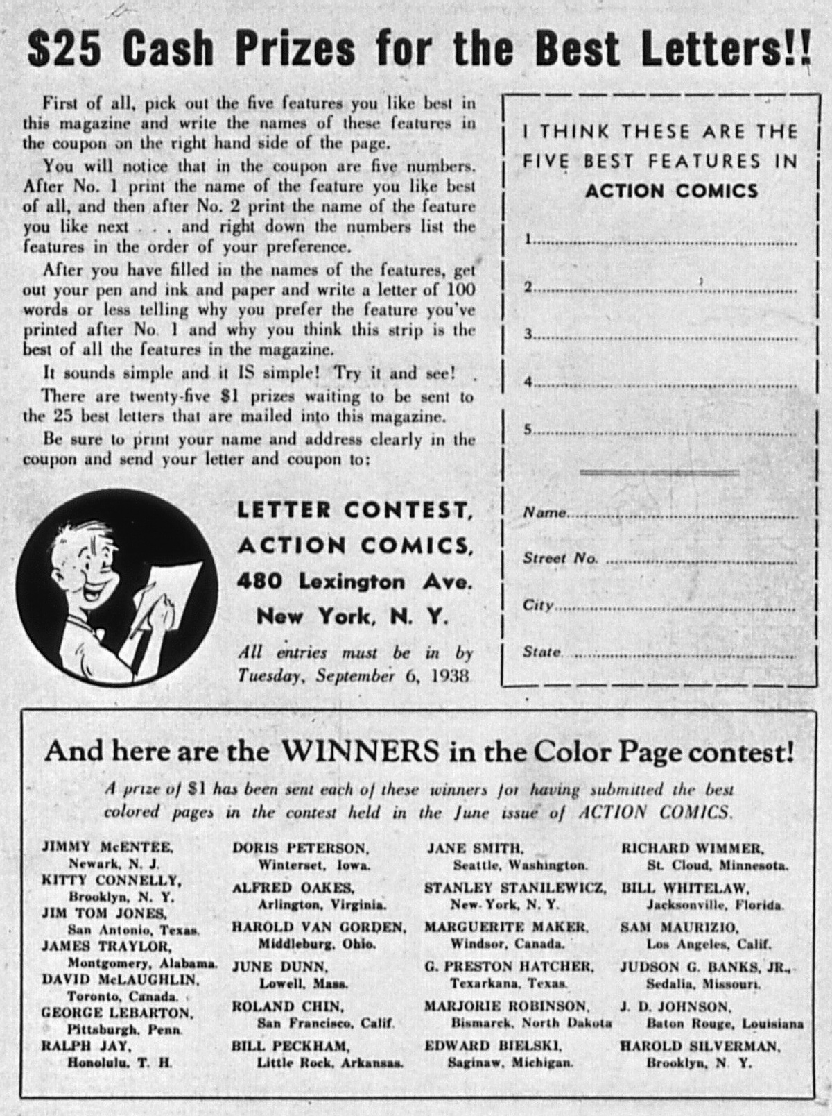 Read online Action Comics (1938) comic -  Issue #4 - 69