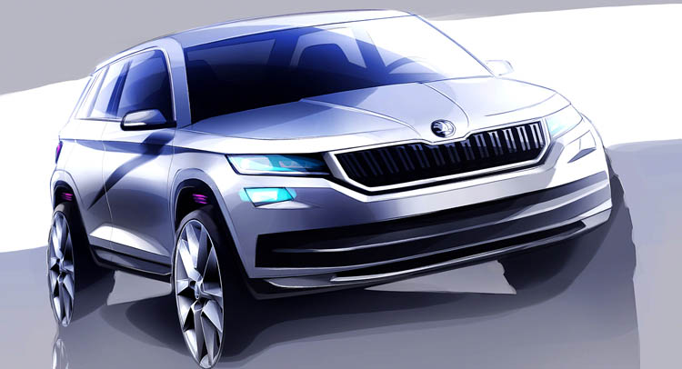 Skoda Previews New Kodiaq SUV