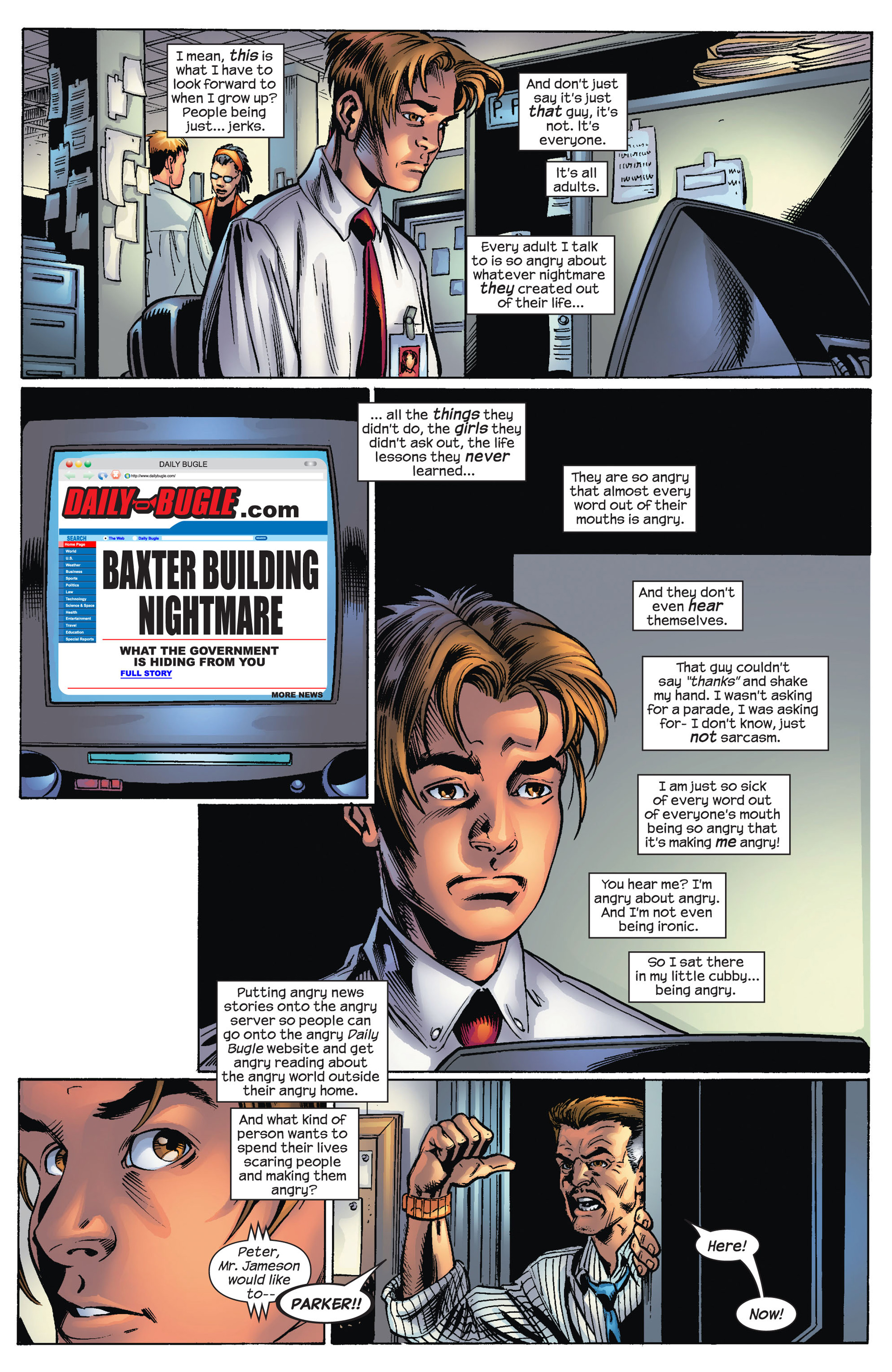 Read online Ultimate Spider-Man (2000) comic -  Issue #70 - 9