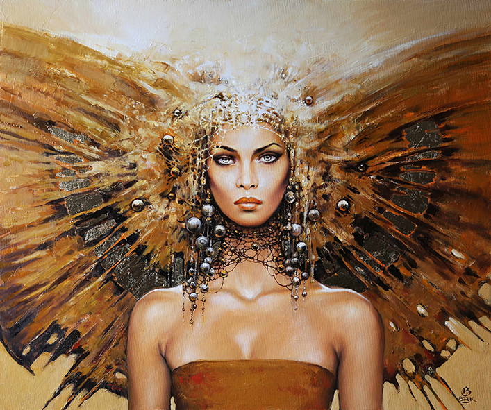 16-Karol-Bąk-Beautifully-Stylised-Portrait-Paintings-www-designstack-co