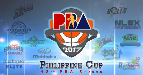 2017 PBA Philippine Cup Schedule, Live Stream Info, Results, Team Standings & Updates