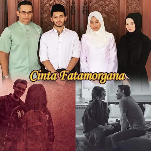 Sinopsis Drama Cinta Fatamorgana Lakonan Aeril Zafril & Azar Azmi