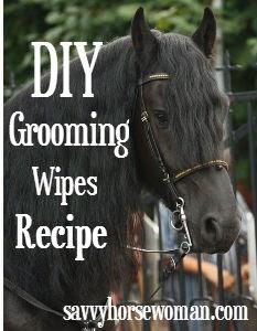 DIY Grooming Wipes Recipe