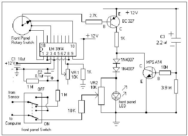 10 Watt Led Driver Circuit Diagram 3d Heart Cross Section Hho México, Hidrógeno Automotriz: Circuito Del Efie Digital & (diagramas Electrónicos)