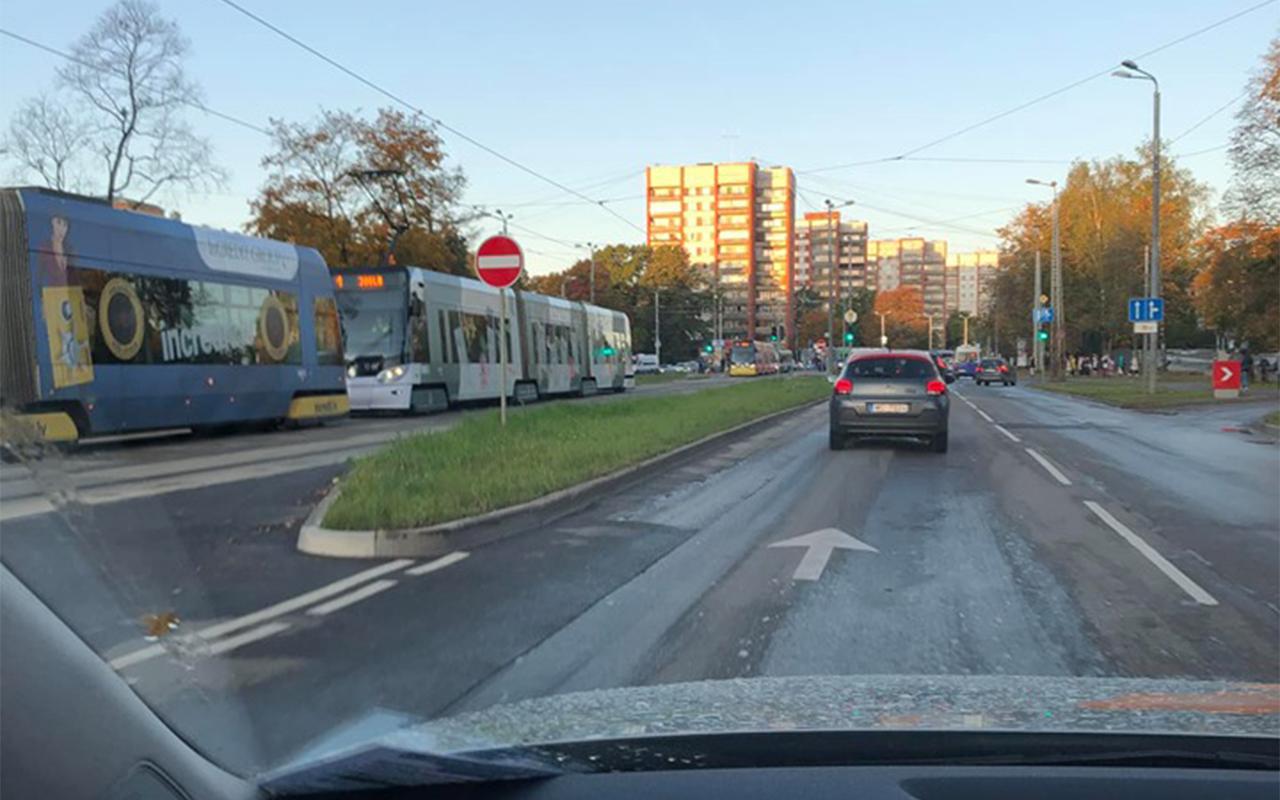 Tramvaju sastrēgums