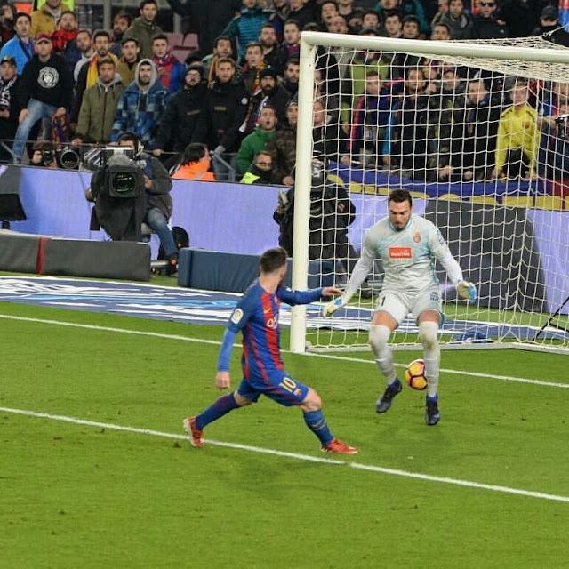 Les 51 buts de Messi pour le Barça en 2016 par mois