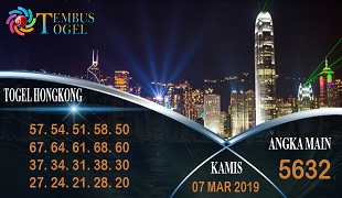 Prediksi Angka Togel Hongkong Kamis 07 Maret 2019