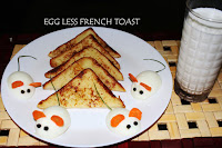 EGG LESS BREAD TOAST