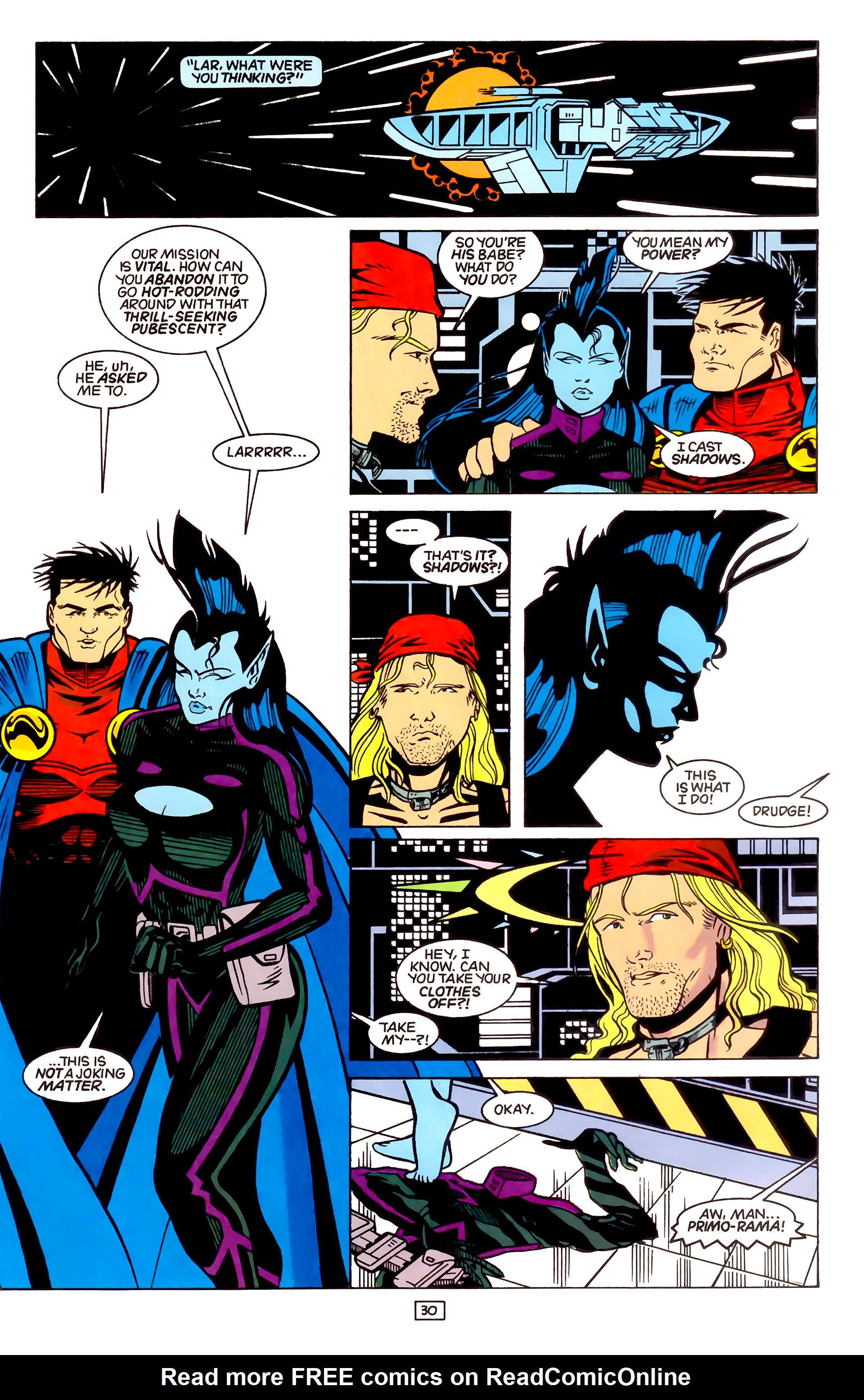 Legion of Super-Heroes (1989) _Annual_4 Page 30