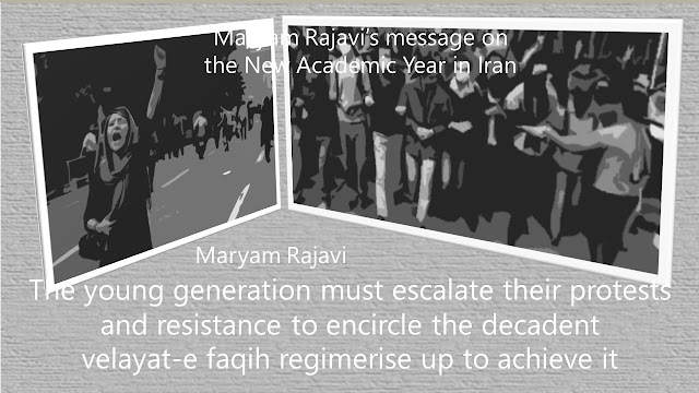 Maryam Rajavi's message on the New Academic Year in Iran