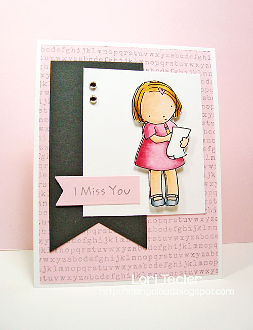I Miss You card-designed by Lori Tecler/Inking Aloud-stamps and dies from My Favorite Things