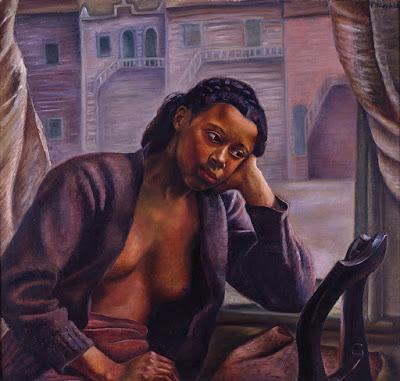 Prudence Heward, Fille à la fenêtre (Girl in the Window), 1941