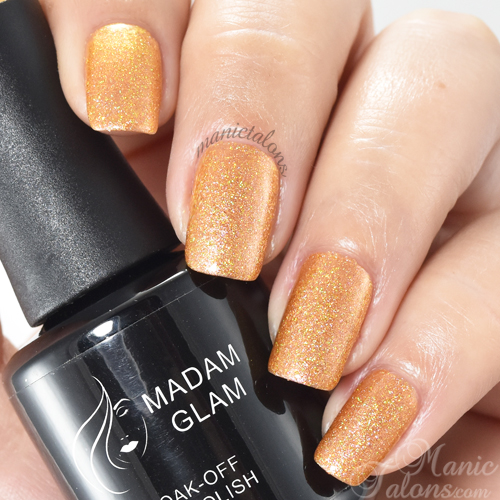 Madam Glam Gel Polish Irreplaceable Swatch