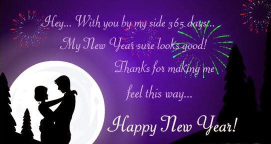New Year 2016 Greeting Wishes for Lovers