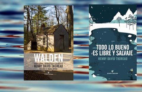2 libros de Thoreau sobre la naturaleza