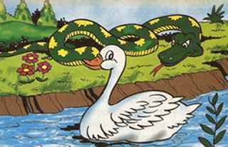 El pato y la serpiente  Tomas iriarte