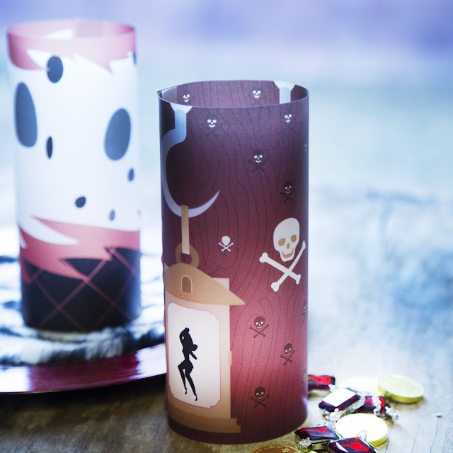 DIY Disney Villains Centerpieces with Free Printable.