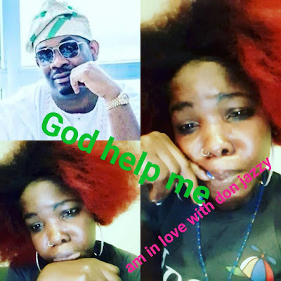 Lady Declares Deep Love For Donjazzy