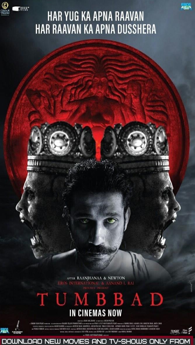 Tumbbad 2018 Hindi Movie 480p HDRip 300Mb x264 Full Movie