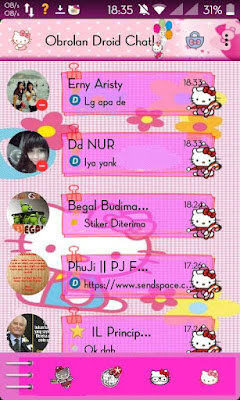 Droid Chat! v4.7.05 Hello Kitty Theme Based BBM v2.9.0.45