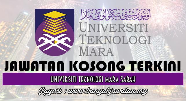 Jawatan Kosong Terkini 2017 di Universiti Teknologi Mara Sabah