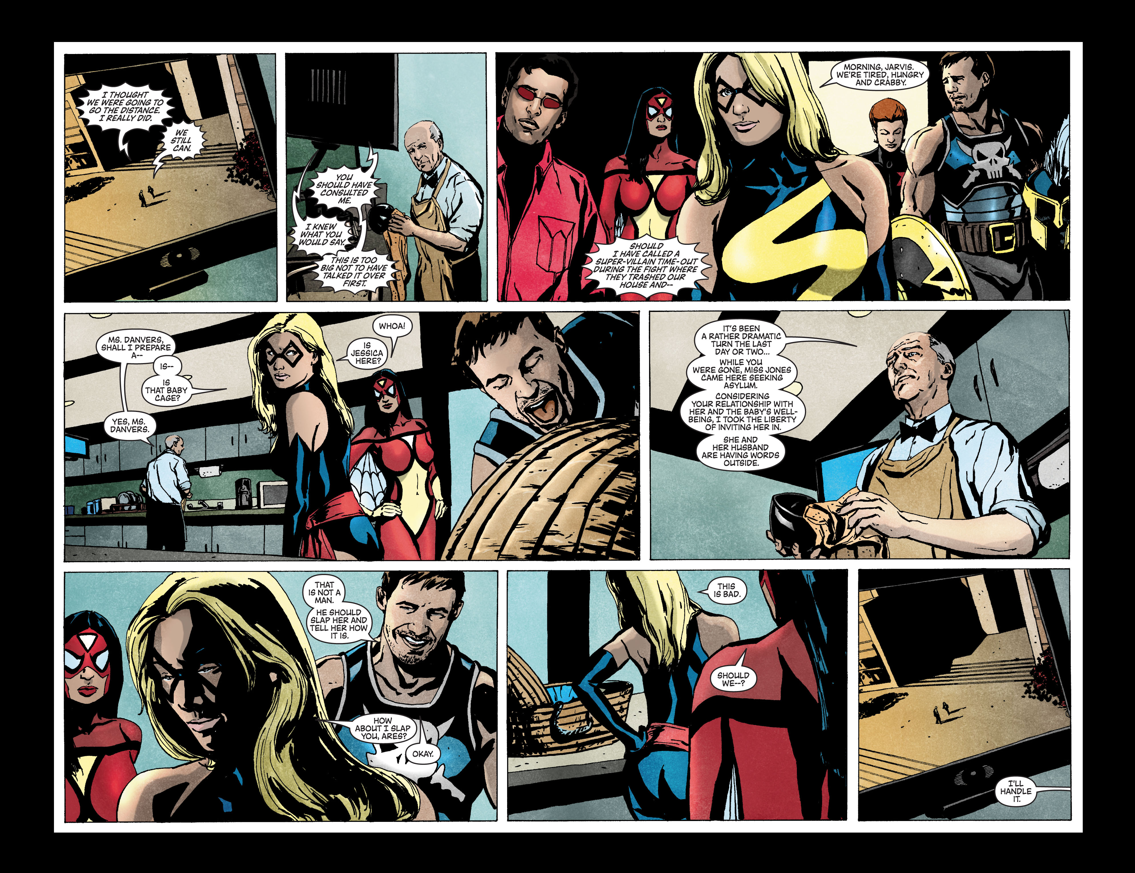 Read online Secret Invasion: The Infiltration comic -  Issue #3 - 13