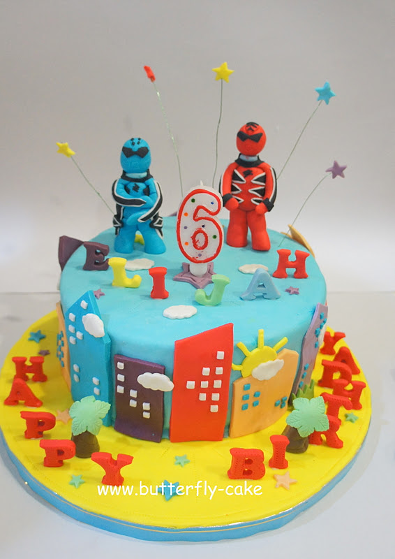 Butterfly Cake Power Ranger Cake For Elijah