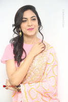 Actress Ritu Varma Pos in Beautiful Pink Anarkali Dress at at Keshava Movie Interview .COM 0342.JPG