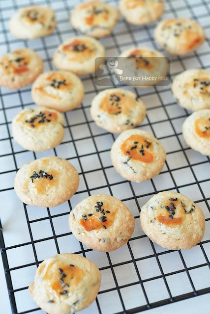 crispy sweet salty seaweed butter cookies