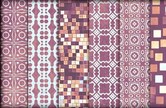 patrones de diseños geometricos