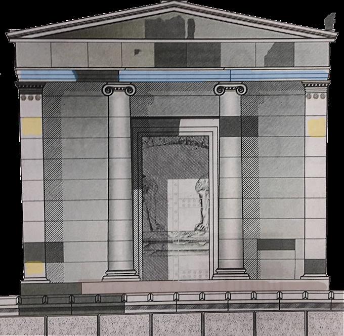 ΔΕΟΣ! Τεραστίων διαστάσεων η πρόσοψη του τάφου της Αμφίπολης! Γλυπτά βρέθηκαν... στο Λούβρο!