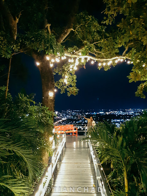 Taken at one of the restaurant with beautiful night view of Phuket