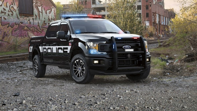 2018 Ford F-150 Police Reply: the first pick-up with 'Pursuit' classification for persecution
