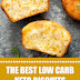 The Best Low Carb Keto Biscuits #ketobiscuits #ketosnack