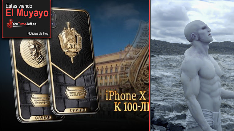 iPhone X de lujo, Hotel en el Espacio, Ovnis, Edward Snowden, Facebook | El Muyayo