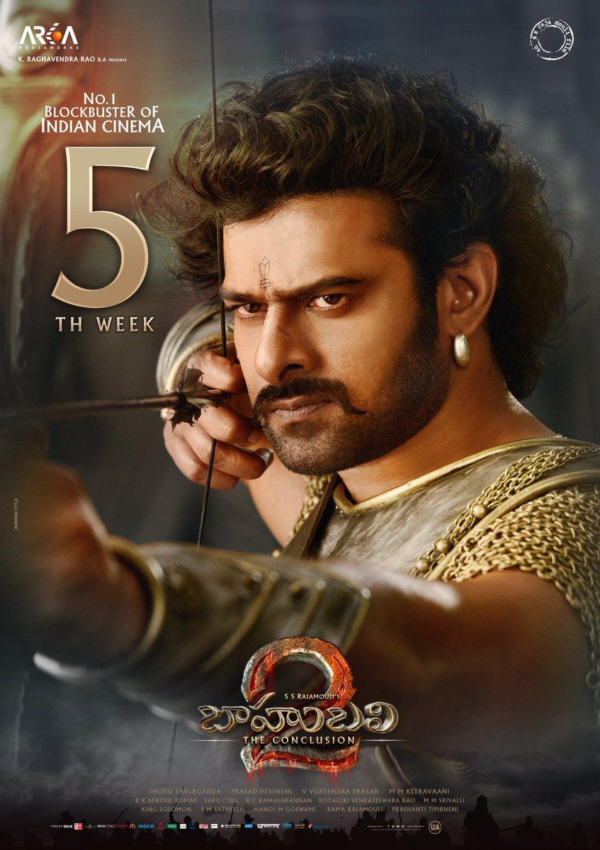Prabhasmyhero blog baahubali 2 fifth week posters - Bahubali 2 poster hd ...