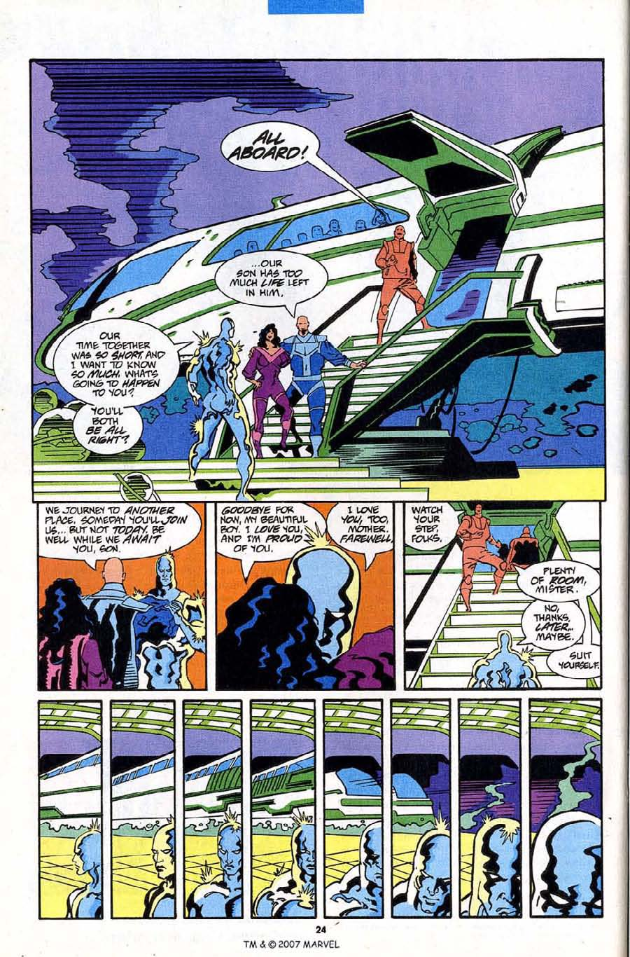 Read online Silver Surfer (1987) comic -  Issue #84 - 26