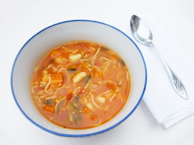 Traditional Scottish Minestrone Soup